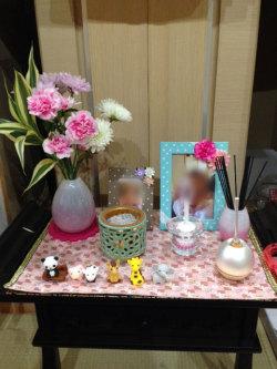 かわいい仏具 かっこいい仏具 ピンクの仏具