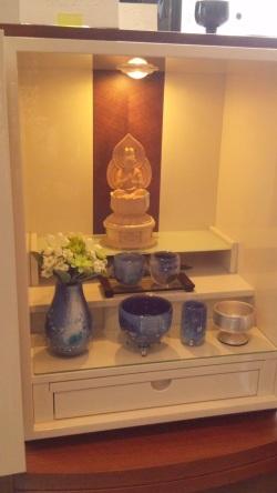 お客様からのお写真 オーダー仏具 かっこいい仏具 こども仏壇