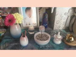 かわいい仏具セット かこいい仏具 赤ちゃん 水子供養 子供 手作り オーダー 小物 骨壺カバー 制作事例