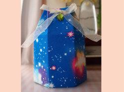 骨壺カバー おしゃれな骨壺カバー 空 虹 かわいい骨壺カバー 水子供養 通販 小物 男の子 オーダー 手づくり